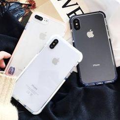 Case Study - 透明手机套 - iPhone XS Max / XS / XR / X / 8 / 8 Plus / 7 / 7 Plus / 6s / 6s Plus