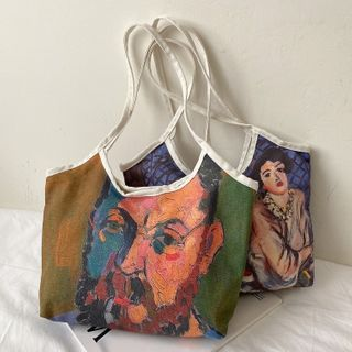 Road to Love - Print Canvas Tote Bag