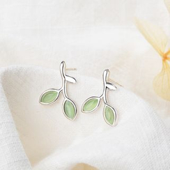 Knick Knack - Leaf Stud Earrings