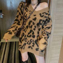 NENE - Leopard Print Sweater