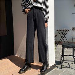 VEIST - High-Waist Wide-Leg Jeans
