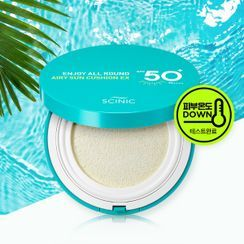 SCINIC - Enjoy All Round Airy Sun Cushion