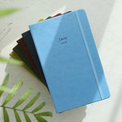 BABOSARANG - 2020 Banded Pleather-Cover Diary (S)
