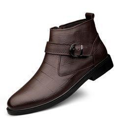 WeWolf - 真皮扣带及踝靴