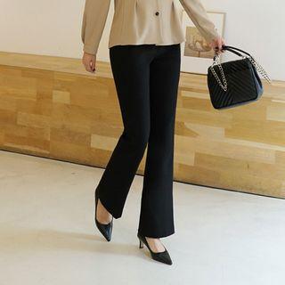 CLICK - Semi Boot-Cut Dress Pants