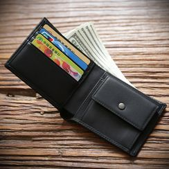 Wavecho - Genuine Leather Fold Wallet