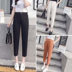 Angel Shine - Cropped Dress Pants