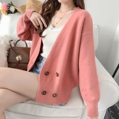 Fashion Street - Double-Breasted Cardigan