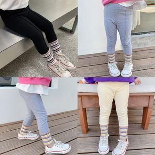 Ruban - Girls Striped Detail Leggings