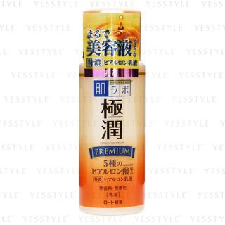 Rohto Mentholatum - Emulsión premium extra hidratante Hada Labo Gokujyun