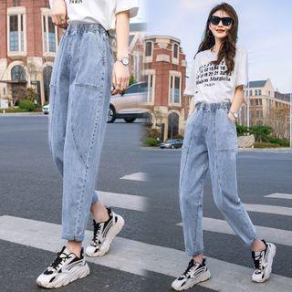 Indiclofie - Washed Harem Jeans