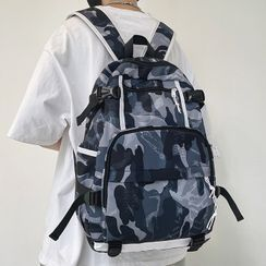 EAVALURE(イーヴァルア) - Print Multi-Section Backpack
