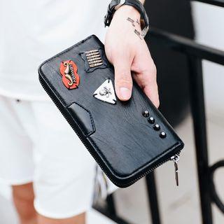 ETONWEAG - Faux Leather Long Wallet