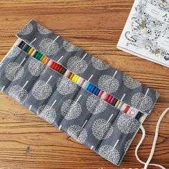 Ponyi - Tree Print Rolling Pencil Case (various designs)