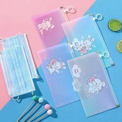 Porcini - Animal Print Surgical Mask Storage Bag