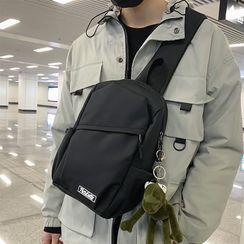 SUNMAN(サンマン) - Plain Zip Sling Bag