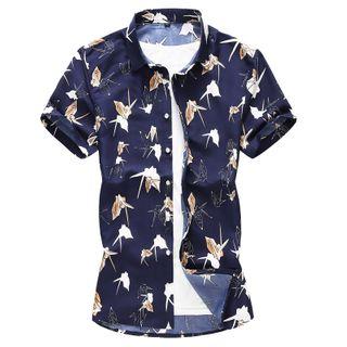 Fireon - Short-Sleeve Printed Shirt