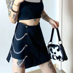 Sugarcoat - 链条铅笔裙裤