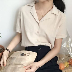 Mikiko - Short-Sleeved Blouse