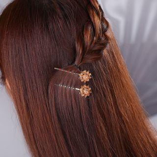 Gangnam - Retro Flower Hair Pin