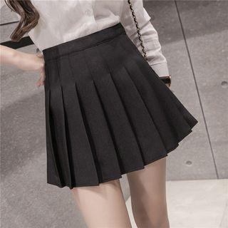 Rosehedge - Pleated Mini Skirt