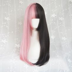 Jellyfish - Two-tone Long Full Wig - Straight
