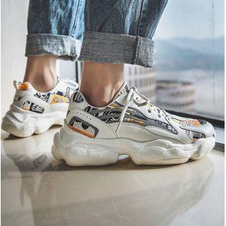 Chaoqi - Printed Platform Sneakers