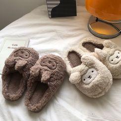 DURAC(デュラック) - Cartoon Fluffy Home Slippers