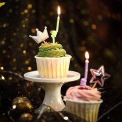 Bakebask - Set: Fluorescent Cake Candle