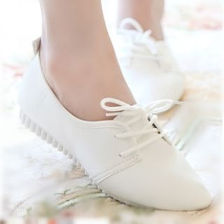 Moonlit Valley - Two-Eyelet Lace-Up Shoes
