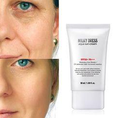 MILKYDRESS(ミルキードレス) - Aqua Sun Cream SPF50+ PA+++ 50ml