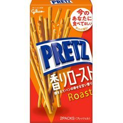 Glico - Pretz Biscuit Sticks Roasted Flavor (Pack of 2)
