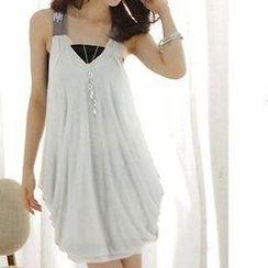 Doyle - Sleeveless Dress with Bandeau