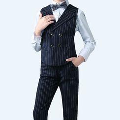 Snow Castle - Kids Blazer / Waistcoat / Pants / Shorts / Shirt / Bow Tie / Suspenders / Set