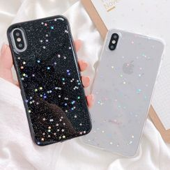 Primitivo - Star Transparent Phone Case - iPhone 11 Pro Max / 11 Pro / 11 / XS Max / XS / XR / X / 8 / 8 Plus / 7 / 7 Plus / 6s / 6s Plus
