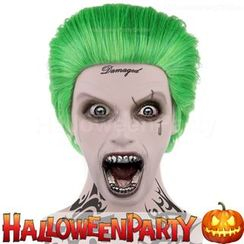 Party Wigs - HalloweenPartyOnline - Joker (Suicide Squad)