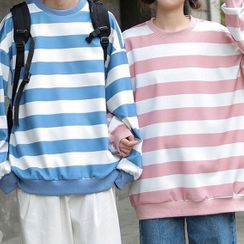 Meirin - Striped Sweatshirt