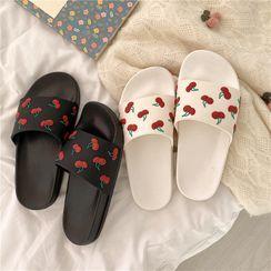 ZORI - Cherry Slide Sandals