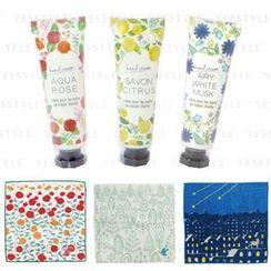 CHARLEY - Handkerchief & Hand Cream Set - 3 Types