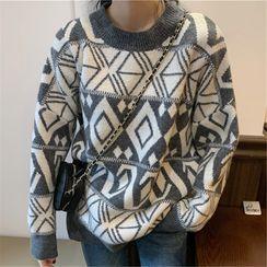 Mushini - Long-Sleeve Knit Top