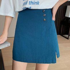 Little V - Wrap A-Line Skirt
