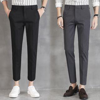 GRAYCIOUS - Slim-Fit Dress Pants