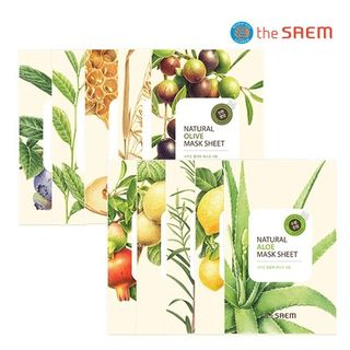 The Saem - Natural Mask Sheet 1pc (20 Flavors)