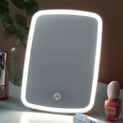 Cute Essentials - Rechargeable LED Desktop Mirror