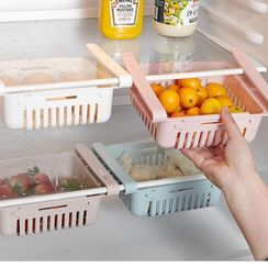 Fun House - Retractable Plastic Fridge Hanging Organizer