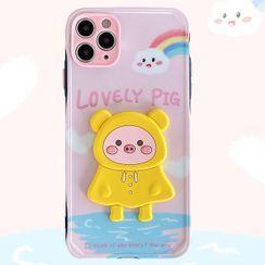 Witheart - Pig Phone Case - iPhone 11 Pro Max / 11 Pro / 11 / SE / XS Max / XS / XR / X / SE 2 / 8 / 8 Plus / 7 / 7 Plus