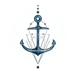 abecome - Anchor Waterproof Temporary Tattoo
