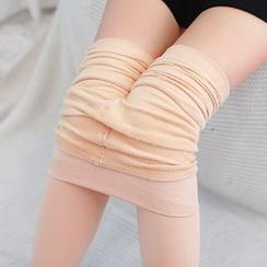 Meigo - Fleece-Lined Tights