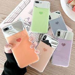 Mobby - Mirror Phone Case - iPhone 6 / 6 Plus / 7 / 7 Plus / 8 / 8 Plus / X / Xr / Xs / Xs Max
