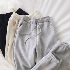 Cloud Nine - Drawstring Waist Sweatpants